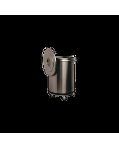 BAC A DECHETS INOX ROULANT  90 LITRES -    47 cm                                   9000 cl