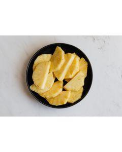Ananas en tranches au sirop léger en conserve - Marque Coq - Fruits exotiques - 565G - 24 boîtes