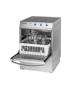 Lave verre inox pompe de vidange - 350 x 350 mm - Stalgast -         220V monophase