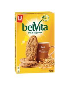 LU BelVita Petit Déjeuner Brut & 5 Céréales Complètes 400g (lot de 6)