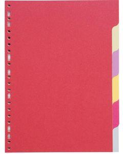 COUTAL Jeu de 6 intercalaires format A4 Carte Recyclée 220g