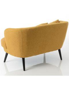 Canapé jaune DAGMARD 110 cm - Amadeus