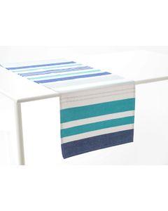 Chemin de table d'extérieur océan 45x150 cm - Amadeus