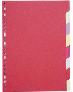 COUTAL Jeu de 8 intercalaires format A4 Carte Recyclée 220g