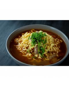 JIN RAMEN Soupe / Nouilles instantanées coréennes légèrement pimentées 120g (ramyun) - Marque Ottogi - 6 sachets