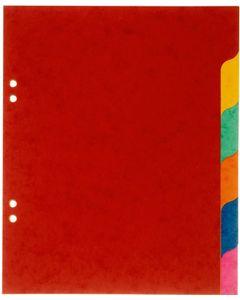 COUTAL Jeu de 6 Intercalaires 'Ecolier' 18x22 cm Carte Lustrée