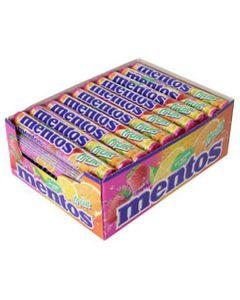 Mentos Fruits Maxi Pack (Boîte de 40 pièces)