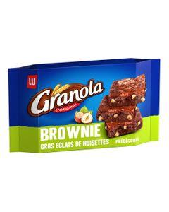 LU Granola L'Original Brownie Gros Éclats de Noisettes Prédécoupé 217g (lot de 6)