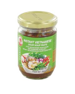 Assaisonnement / Pâte instantanée pour soupe Canh Chua (soupe aigre-douce vietnamienne) 227g - Marque Coq - 4 pots