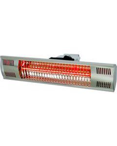 Lampe Chauffante Aluminium Suspendue ou Murale 1500 W - Stalgast -          Aluminium