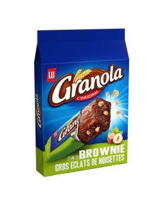 LU Granola L'Original Brownie Gros Éclats de Noisettes 180g (lot de 6)