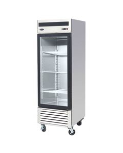 Armoire Réfrigérée Vitrée Positive - 610 L - Atosa -       R600A   1 Porte                                                     Pleine