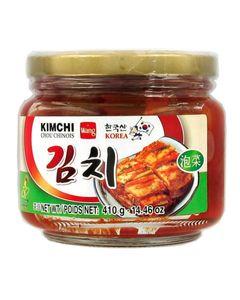 Kimchi en bocal (chou chinois pimenté) 410g - Marque WANG - 2 boîtes