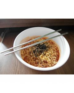 Soupe / Nouilles instantanées coréennes SHIN RAMYUN pimentées 120g - Marque Nongshim - 10 sachets