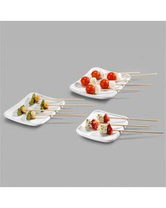 Assiette Mélamine Gamme Mini 12,5 à 17 cm - Pujadas -    12,5 cm      Mélamine                   17 x 14 cm