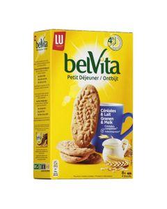 LU BelVita Petit Déjeuner Céréales & Lait 400g (lot de 6)