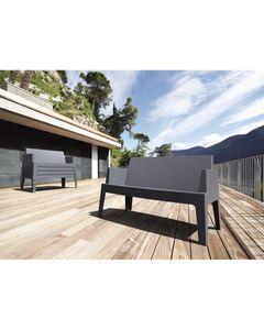 Canapé Sofa Modèle BOX en Polypropylène - Plusieurs Couleurs -     Noir