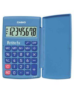 CASIO Calculatrice Poche Petite FX 8 Chiffres Bleue