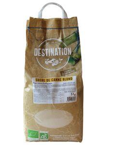 Sucre de canne Blond Bio sac de 5kg