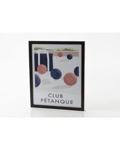 Affiche club pétanque 40x50 cm - Amadeus