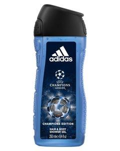 Adidas Hair & Body Shower Gel Champions League Edition 250ml (lot de 6)