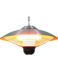 Lampe Chauffante à Suspendre avec Éclairage LED 2100 W - Stalgast -    58,5 cm      Inox